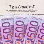 Erbschaft/Schenkung – Steuern sparen beim Erben und Schenken durch Verteilung des Vermögens auf die Eheleute (Erbschaftsteuer/Schenkungsteuer)